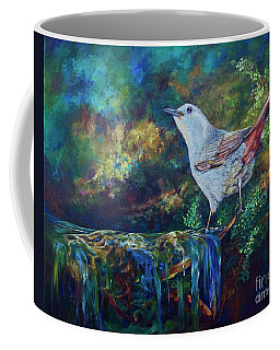 Gray Catbird Coffee Mug