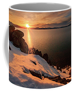 Final Minutes Of Golden Washoe Light Coffee Mug