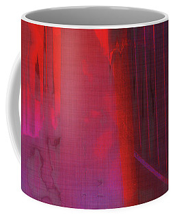Coffee Mug featuring the digital art Final Scene - Before The Bell by Wendy J St Christopher