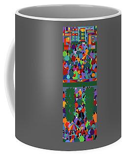 We The People Diptych Coffee Mug