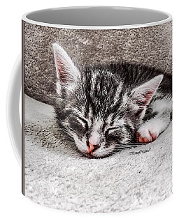 Finally Asleep  Copyright Mary Lee Parker 17  Coffee Mug