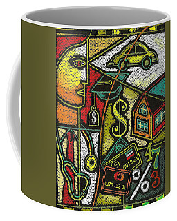 Finance And Medical Career Coffee Mug by Leon Zernitsky