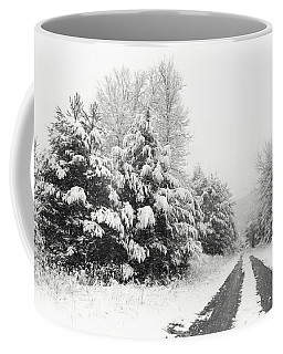 Coffee Mug featuring the photograph Find A Pretty Road by Lori Deiter