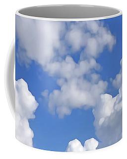 Coffee Mug featuring the digital art Finding Focus Sky by Francesca Mackenney