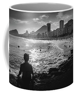 Fine Art Copacabana Rio De Janeiro, Brazil Coffee Mug
