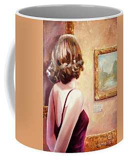 Fine Art Gallery Opening Night Coffee Mug