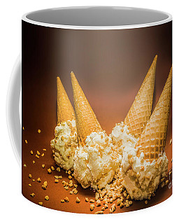 Fine Art Ice Cream Cone Spill Coffee Mug