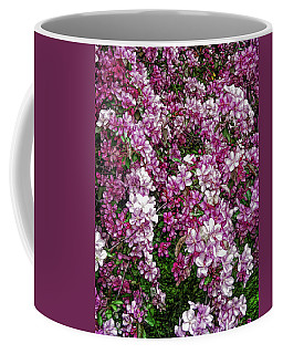 Coffee Mug featuring the photograph Fine Wine Cafe Beautiful Blossoms by Aimee L Maher Photography and Art Visit ALMGallerydotcom
