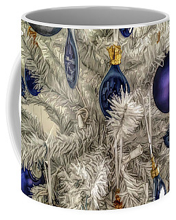 Coffee Mug featuring the photograph Fine Wine Cafe Christmas Tree Ornaments by Aimee L Maher Photography and Art Visit ALMGallerydotcom