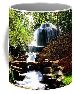 Coffee Mug featuring the photograph Finlay Park Columbia Sc Summertime by Lisa Wooten