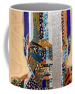 Finn Star Wars Awakens Afrofuturist  Coffee Mug by Apanaki Temitayo M