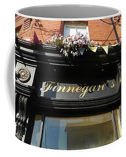 Finnegan's Sign/ Bono's Pub Coffee Mug by Melinda Saminski