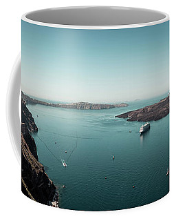Fira, Santorini - Greece Coffee Mug