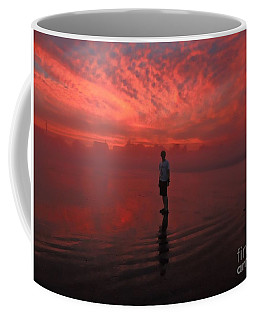 Fire And Fog Coffee Mug by Marcia Lee Jones