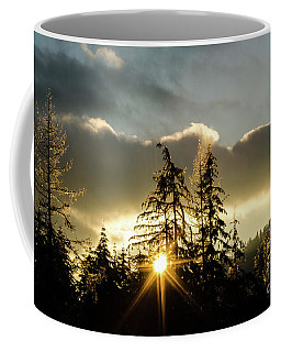 Coffee Mug featuring the photograph Fire And Ice by Nick Boren