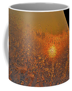 Coffee Mug featuring the photograph Fire And Ice by Susan Capuano