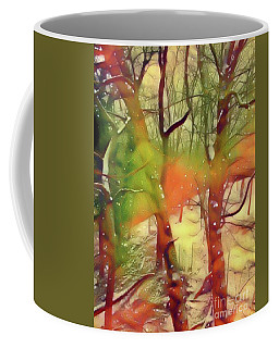 Fire And Snow Coffee Mug