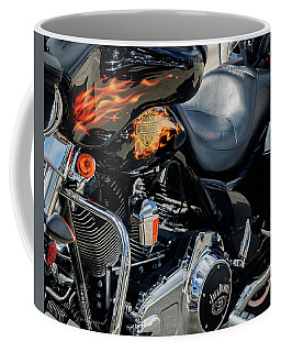 Fire Bike Coffee Mug