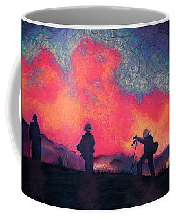 Fire Crew Coffee Mug by Joshua Morton