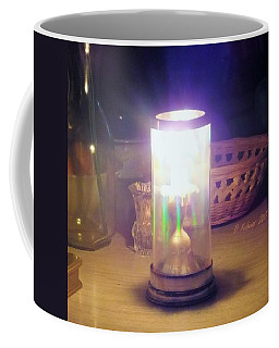 Coffee Mug featuring the photograph Fire Dance by Denise Fulmer