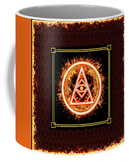 Fire Emblem Sigil Coffee Mug by Shawn Dall