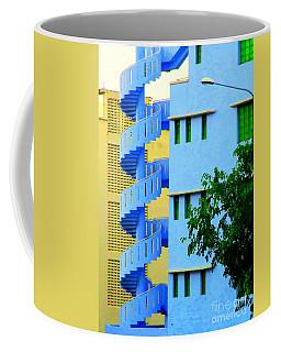 Fire Escape 2 Coffee Mug by Randall Weidner