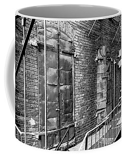 Fire Escape And Doors Coffee Mug