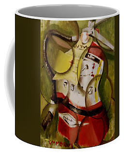 Tommervik Abstract Fire Extinguisher Art Print Coffee Mug