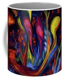 Fire Flowers Coffee Mug