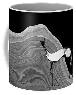 Fire Horse Coffee Mug by Asok Mukhopadhyay