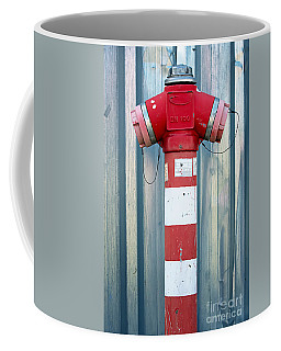 Fire Hydrant Steel Wall Coffee Mug