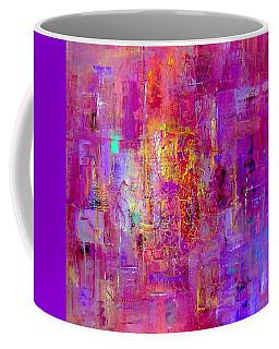 Fire In My Heart Abstract Coffee Mug
