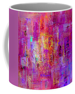 Fire In My Heart Abstract Coffee Mug