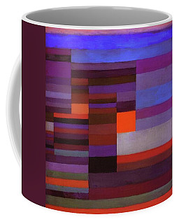 Fire In The Evening Coffee Mug by Paul Klee