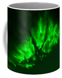 Coffee Mug featuring the photograph Fire In The Sky by Greg Collins