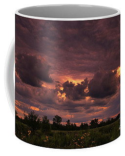 Fire In The Sky Tonight Coffee Mug