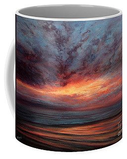 Fire In The Sky Coffee Mug by Valerie Travers