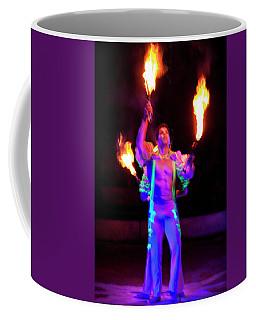 Fire Juggler Coffee Mug