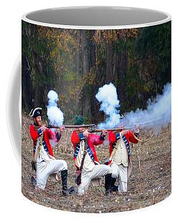 Fire Coffee Mug by Linda Brown