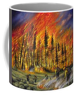 Fire Line 1 Coffee Mug