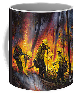 Fire Line 2 Coffee Mug