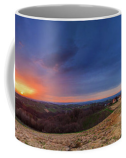 Fire On The West Side Coffee Mug