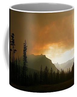 Fire Over St Mary Coffee Mug
