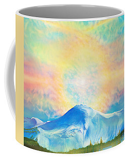 Fire Rainbow Over Alberta Peak Wolf Creek Colorado Coffee Mug by Anastasia Savage Ealy
