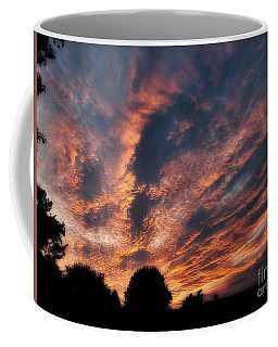 Fire Swept Sky  Coffee Mug