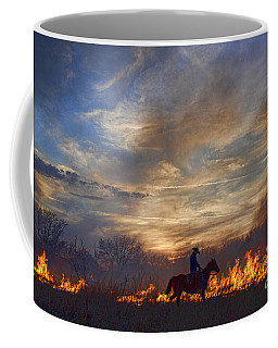 Fire Up The Sunset Coffee Mug