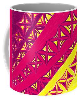 Fire Velvet Lace Coffee Mug