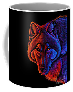 Fire Wolf Coffee Mug