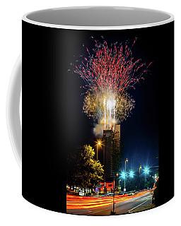 Fire Works In Fort Wayne Coffee Mug