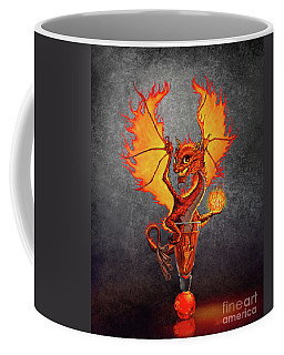 Fireball Dragon Coffee Mug